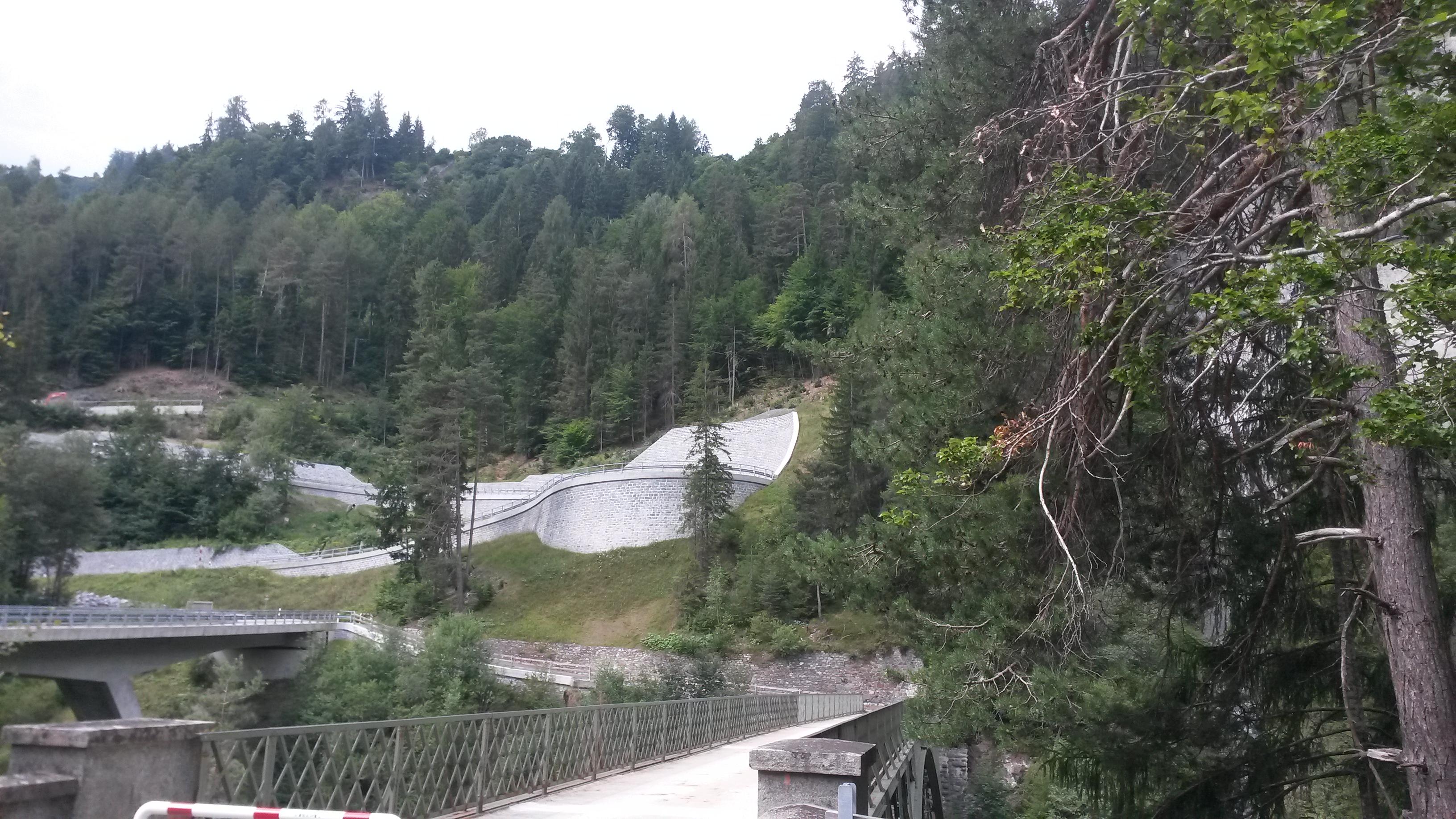 les ponts de Ruinaulta