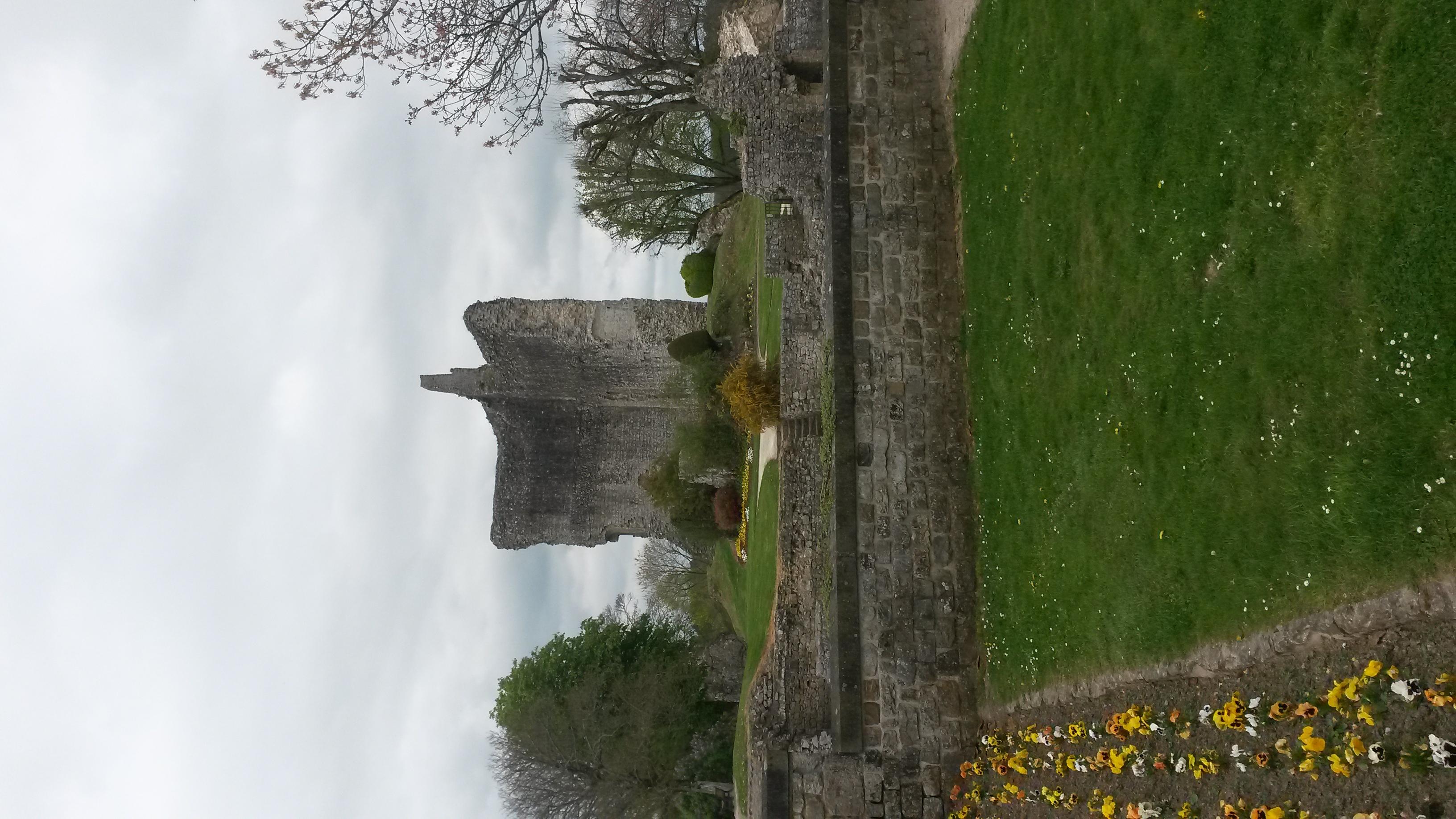 Ruines du chateau de Domfront